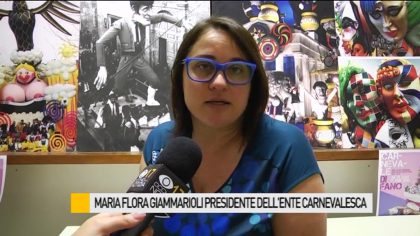 Maria Flora Giammarioli presidente dell'Ente Carnevalesca – VIDEO