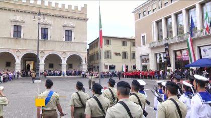 Celebrata a Pesaro la Festa della Repubblica – VIDEO