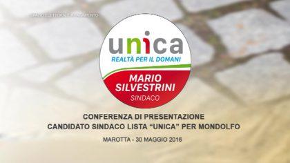 Presentazione  candidato Sindaco Mario Silvestri