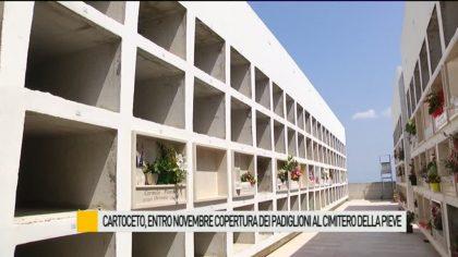 Cartoceto, entro novembre copertura dei padiglioni al cimitero della Pieve – VIDEO