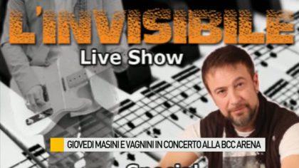 Stasera Masini e Vagnini in concerto alla BCC Arena di Fano – VIDEO