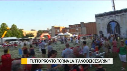 "Tutto pronto, torna la ""Fano dei Cesarini"" – VIDEO"