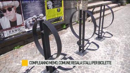 Compleanno Memo, il Comune regala stalli per biciclette – VIDEO