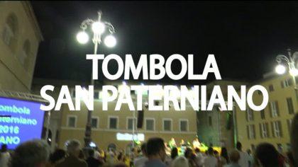 Tombola di San Paterniano 2016