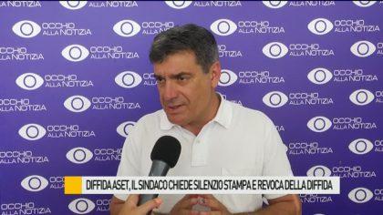 Diffida Aset, il sindaco chiede il silenzio stampa e la revoca della diffida – VIDEO