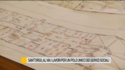 Sant'Orso, al via i lavori per un polo unico dei servizi sociali – VIDEO
