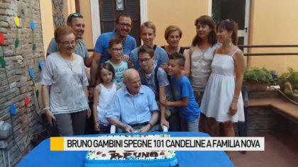 Bruno Gambini spegne 101 candeline a Familia Nova – VIDEO