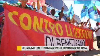 Operai Azimut-Benetti incontrano proprietà prima di andare a Roma  – VIDEO