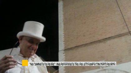 """""""Na caminata da paura"""" con l'attore fanese Filippo Tranquilli – VIDEO"""
