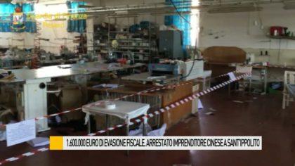 1.600.000 euro di evasione fiscale. Arrestato imprenditore cinese a Sant'Ippolito – VIDEO