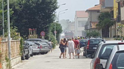 Emergenza caldo: incendi a Fano, Pesaro e Senigallia