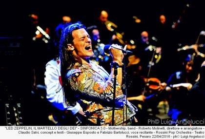 I Led Zeppelin all'Arena Bcc grazie all'Orchestra Sinfonica Rossini