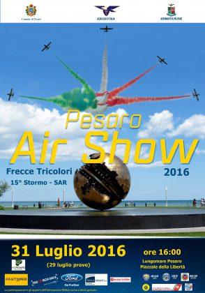 Domenica le Frecce Tricolori, Ricci: «Grande show a suggello di un'estate straordinaria»