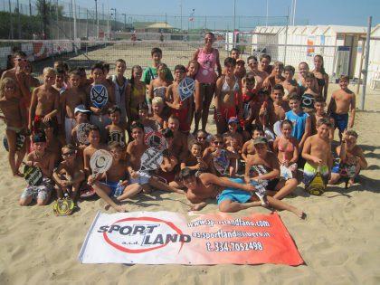 Domenica a Fano oltre 100 beach tennisti da tutta Italia