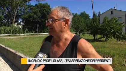 Incendio Profilglass, l'esasperazione dei residenti di Bellocchi