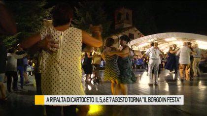 """A Ripalta di Cartoceto torna il 5, 6 e 7 agosto """"Il Borgo in Festa"""" – VIDEO"""