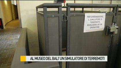 Al Museo del Balì un simulatore di terremoti – VIDEO