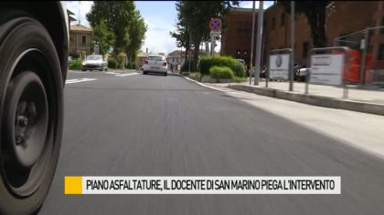 Fano, piano asfaltature: il docente di San Marino spiega l'intervento – VIDEO