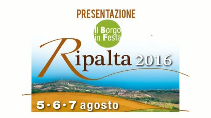 Presentazione 'Il Borgo in Festa' – Ripalta 2016