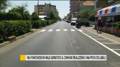Via i parcheggi in viale Adriatico: in arrivo una nuova pista ciclabile – VIDEO