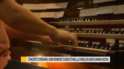 Concerti d'organo: ogni venerdì d'agosto nella chiesa di Santa Maria Nuova a Fano – VIDEO