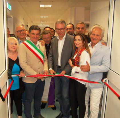 Al Santa Croce di Fano inaugurati il nuovo reparto di ostetricia e la Breast Unit Senologica