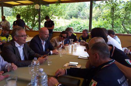 """SISMA – Ceriscioli incontra  Bonaccini e Curcio: """"Va garantito rapido passaggio dalle  tende ai  moduli"""""""