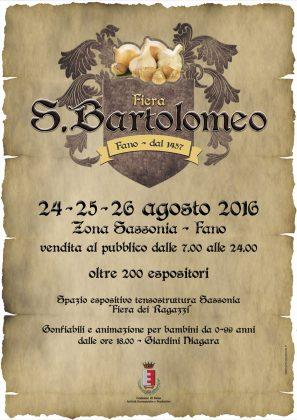 Torna la storica fiera di San Bartolomeo Appuntamento per grandi e piccini dal 24 al 26 agosto