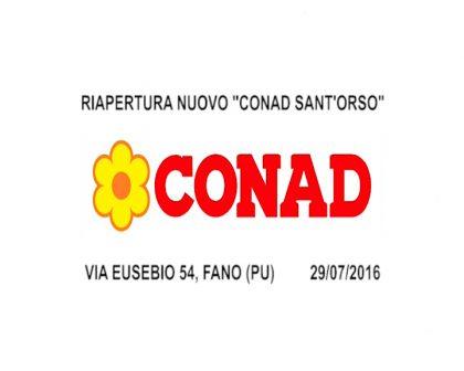 Riapertura Conad S.Orso