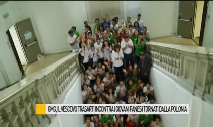 GMG, il Vescovo Trasarti incontra i giovani fanesi tornati dalla Polonia – VIDEO