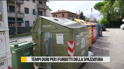 Tempi duri per i furbetti della spazzatura – VIDEO