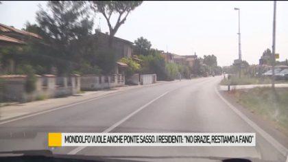 """Mondolfo vuole anche Ponte Sasso. I residenti: """"No grazie, restiamo a Fano"""" – VIDEO"""