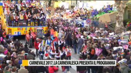 Carnevale 2017: la Carnevalesca presenta il programma di massima – VIDEO