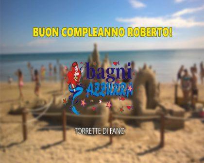 Buon Compleanno Roberto!!