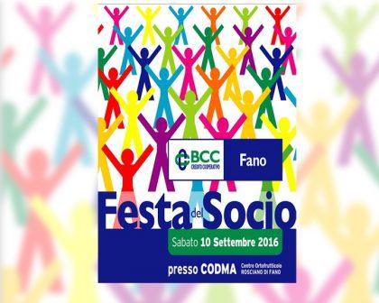 Bcc festa del socio 2016