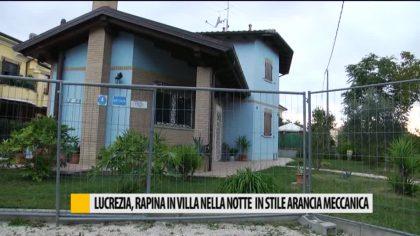 Lucrezia, rapina in una villa nella notte – VIDEO