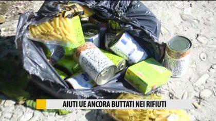 È successo di nuovo: aiuti UE buttati nei rifiuti – VIDEO