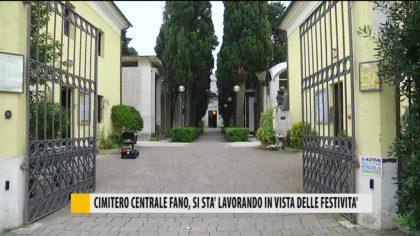 Cimitero centrale di Fano, si sta lavorando in vista delle festività – VIDEO