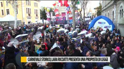 Carnevale storico, Lara Ricciatti presenta una proposta di legge – VIDEO