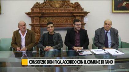 Consorzio di bonifica, accordo con il Comune di Fano – VIDEO