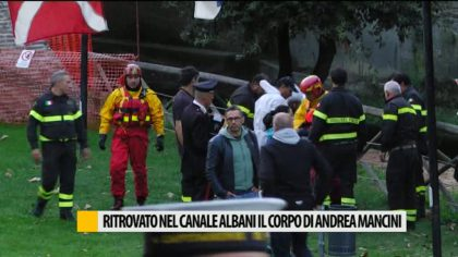 Ritrovato alla Darsena Borghese il corpo di Andrea Mancini – VIDEO