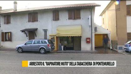 """Arrestato il """"rapinatore muto"""" della tabaccheria di Pontemurello – VIDEO"""