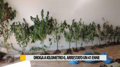 I Carabinieri arrestano un 41enne per possesso di droga – VIDEO