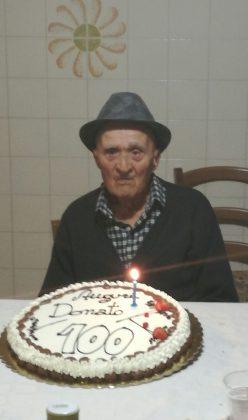 Orciano in festa per i 100 anni di nonno Donato