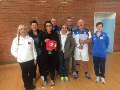 San Lorenzo in Campo, un defibrillatore per ogni impianto sportivo