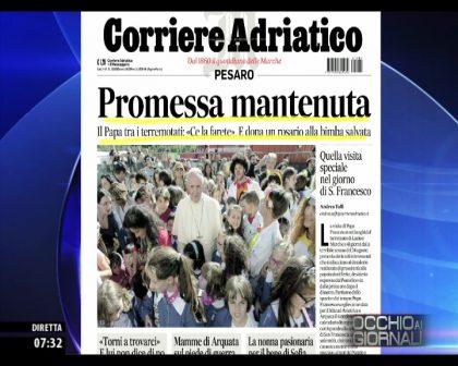 Occhio ai GIORNALI 05/10/2016
