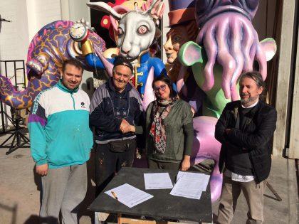 Carri nuovi, lavoro e cultura: l'accordo siglato tra Carnevalesca e Carristi profuma di opportunità
