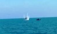Trovato ordigno in mare, poi fatto brillare al largo di Pesaro