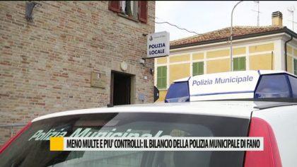 Meno multe e più controlli: il bilancio della Polizia Municipale di Fano – VIDEO