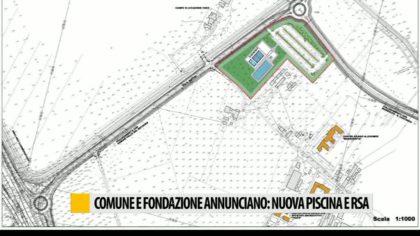 Comune e fondazione annunciano: nuova piscina e rsa – VIDEO